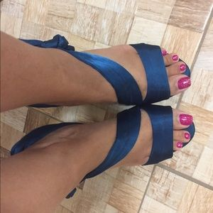 Caparros Teal Sandals 7